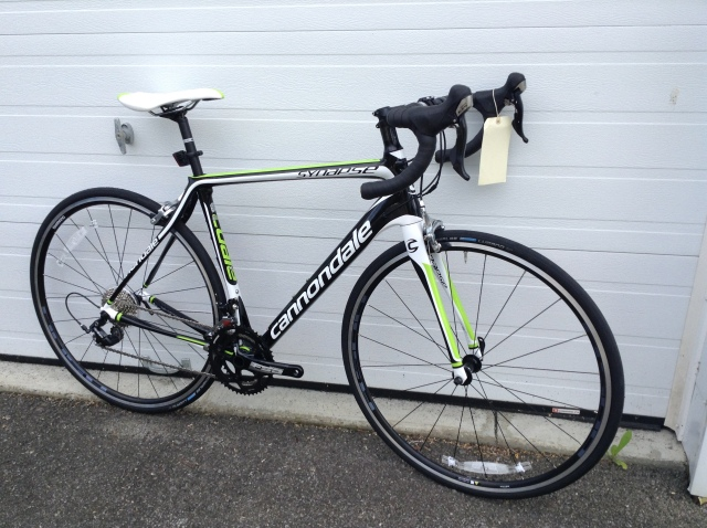 New Shop Arrival: 14 Cannondale Synapse Carbon 6